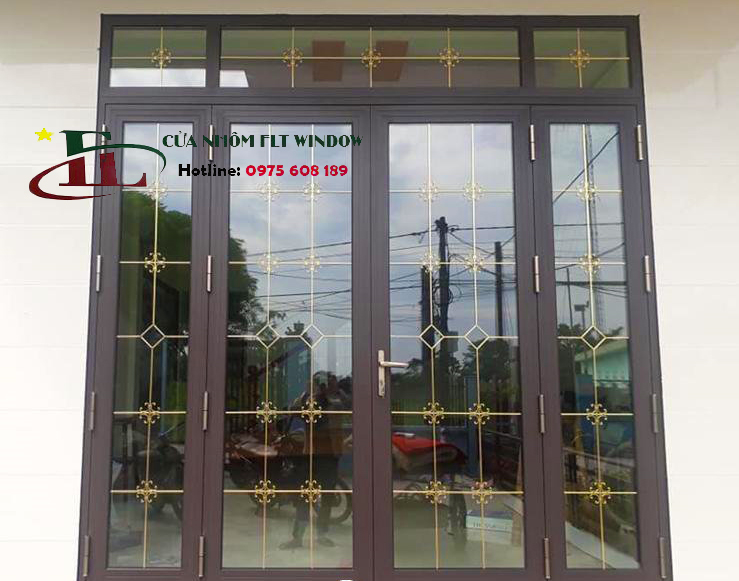 Cửa Nhôm XINGFA Zhongkai Mầu Vân Gỗ